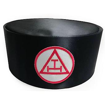 Arco real masonic triple tau cap negro