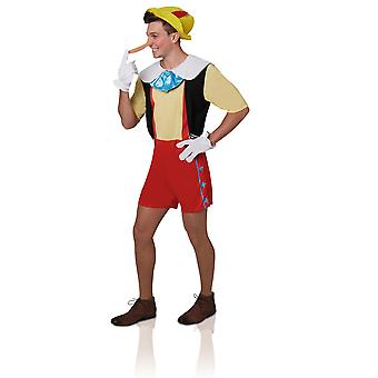 Déguisement Pinocchio adulte