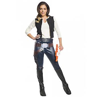 Déguisement classique Han Solo Star Wars femme