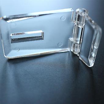 Ein Paar Acryl Haspen & Hefter 52mm x 25mm x 15mm
