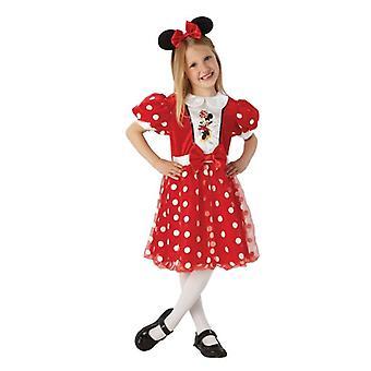 Red Glitz Minnie Mouse. Size : Small
