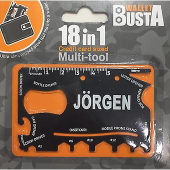 Carte de débit de carte de crédit Multitool Multitool J-RGEN