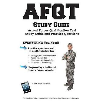 AFQT Study Guide Armed Forces Qualification Test  Study Guide and Practice Questions by Complete Test Preparation Inc.