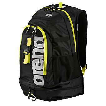 Arena Fastpack 2.1 Swim Bag - Black/Yellow/Silver