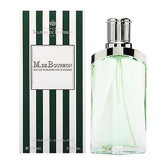 M. de bourbon by princess marina de bourbon for men 3.3 oz eau de toilette spray