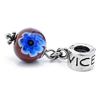 Beads Viceroy VMB0034-24 Purple Blue (1 cm)