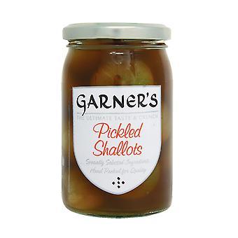 Garners Pickled Shallots in Dark Vinegar
