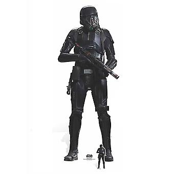 Death Trooper Rogue One: A Star Wars Story Lifesize Cardboard Cutout / Standee