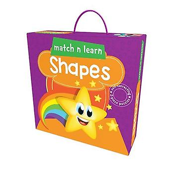 Match N Learn Shapes by Pegasus - 9788131942666 Book