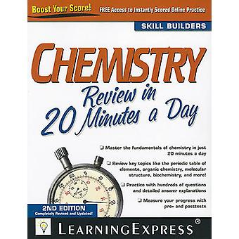 Chemistry Review in 20 Minutes a Day by LearningExpress - 97815768579