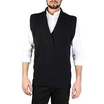Man akryl ærmeløs sweater v-hals t-shirt top ea46295