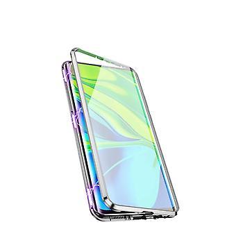 Caixa móvel com vidro temperado de dupla lateral - Xiaomi 10 - Prata