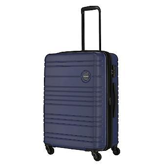 travelite Roadtrip Trolley M, 4 ruedas, 67 cm, 68 L, azul