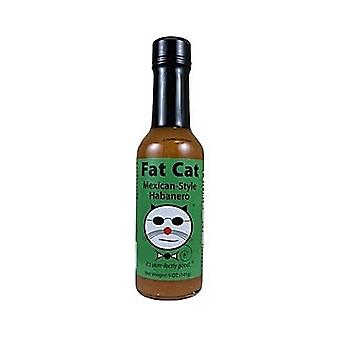 Fat Cat Mexican Style Habanero Hot Sauce