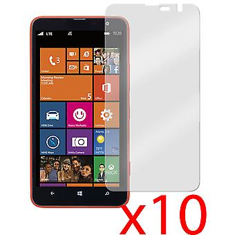 10x Screen Protector Cover Foil Guard for Nokia Lumia 1320