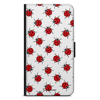 Bjornberry Case Samsung Galaxy S7 Edge - Ladybugs