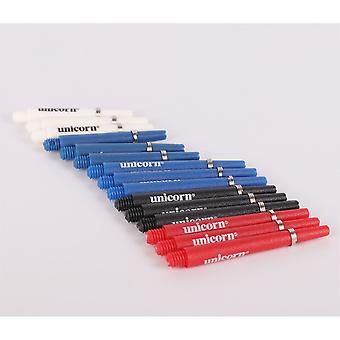 Yksisarvinen 5 pack grip akselit sport darts asettaa 30 kpl korjaus päivitys