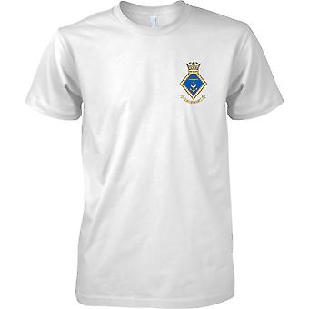 HMS HMNB Portsmouth - Royal Navy Shore vestiging T-Shirt kleur