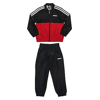 Boy's adidas Junior Woven Tracksuit in Black