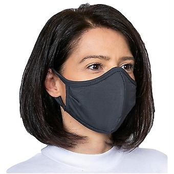 Obviously Ear Loop Face Mask - Dark Grey
