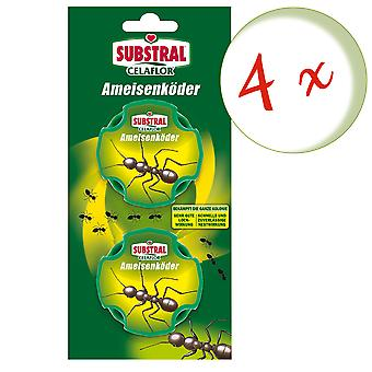Sparset: 4 x SUBSTRAL® Celaflor® ant baits, 2 doses