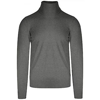Replay Grey Rollneck Knit Sweater