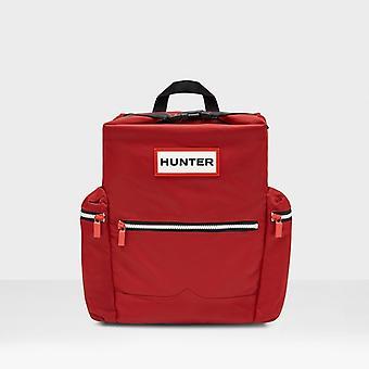 Hunter Original Unisex Nylon Backpack Military Red