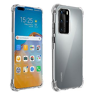Protective Cover Huawei P40 Pro Flexible Shockproof Cover corners Akashi Clear