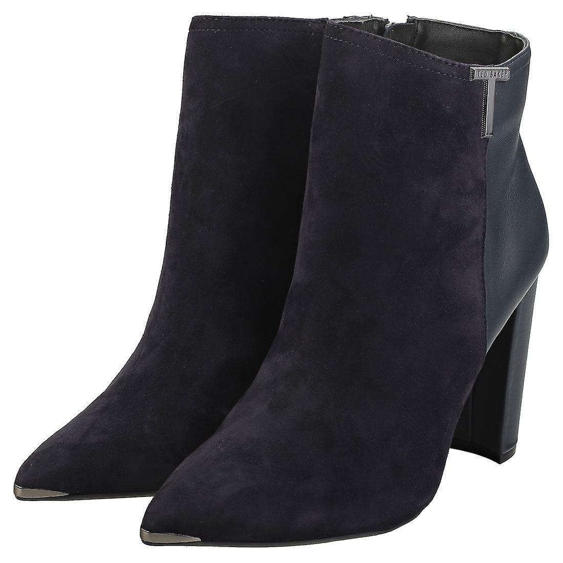Ted Baker Inala Womens Ankle Boots in Navy