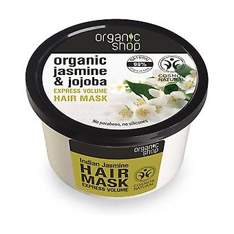 Organic Jasmine and Jojoba Express Volume Hair Mask 250 ml