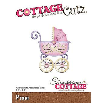 Scrapping Cottage CottageCutz Pram