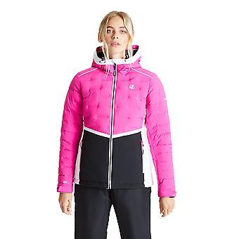 يجرؤ 2b النساء بشكل واضح ماء سترة التزلج القابلة للتنفس
