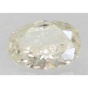 Certificado 1.05 quilates I VS1 Oval Enhanced Natural Loose Diamond 8.17x5.68mm
