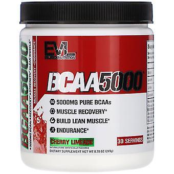 EVLution Nutrition, BCAA5000, Cherry Limeade, 8.78 oz (249 g)
