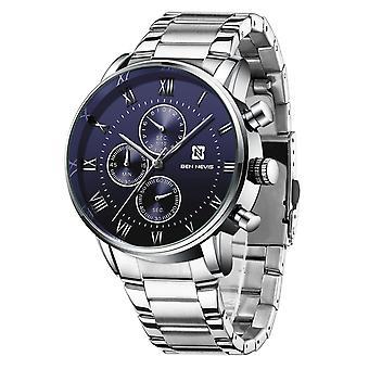 Męski&s wysokiej jakości kwarcowy sześciopinowy zegarek