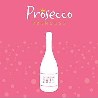 Prosecco Princess Mini Square Wall Calendar 2021
