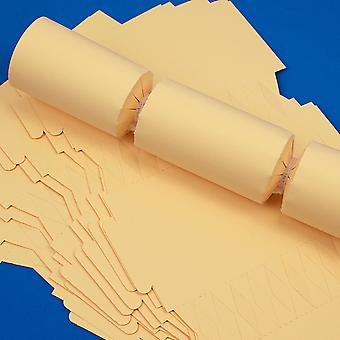 12 Cream Make & Fill Your Own DIY Recyclable Christmas Cracker Boards