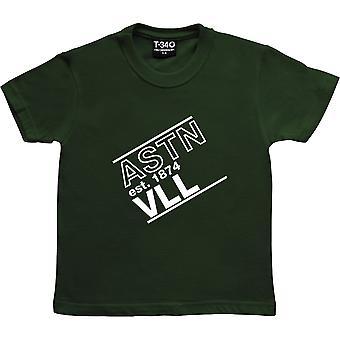 Astn Vll Racing Green Kids' T-Shirt