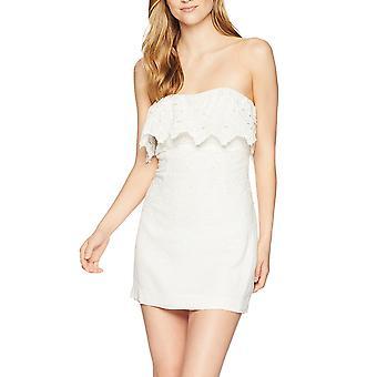 Free People   Morning Dove Cotton Mini Dress