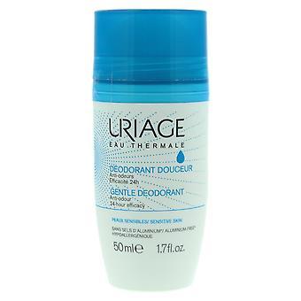 Uriage Gentle Deodorant 50ml Anti-Odour 24-hour Efficacy - Sensitive Skin