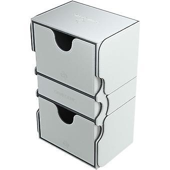 Gamegenic Stronghold 200-Card Conversível Caixa de baralho branco