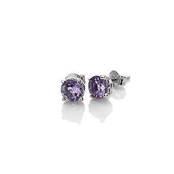 Anais Hot Diamonds Anais February Amethyst Earrings AE002