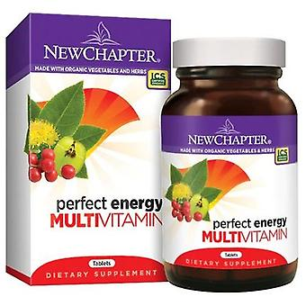 New Chapter Perfect Energy Multivitamin, 72 tabs