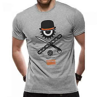 Clockwork Orange Unisex Adults Icons Design T-Shirt