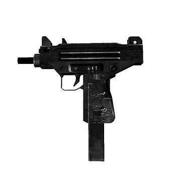 3d Pappersmodell, Uzi Submachine Pistol
