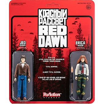 Red Dawn Reaction Wave 1 - Jed & Erica 2pk USA import