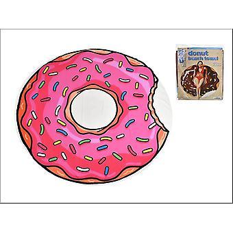 Kandy Toys Micro Fibre Round Beach Towel Donut TY751