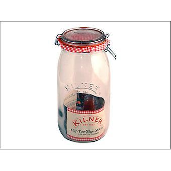 Kilner Clip Jar Round 3L 0025.494