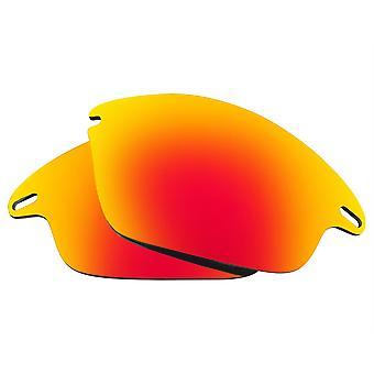 العدسات البديلة المستقطبة لنظارات النظارات الشمسية أوكلي سترة سريعة المضادة للخدش الأحمر