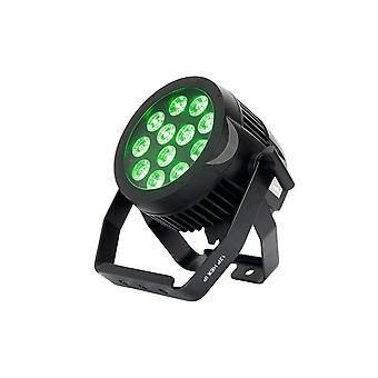 Adj dj americano 12p hex ip 12x12w rgbaw+uv ip65 classificado para o led par light